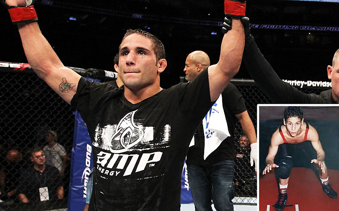 Chad Mendes started wrestling as a hyperactive kid in Hanford who needed an outlet for his energy &ndash; two weeks later he was winning tournament matches, and the wins piled up from there&hellip; all the way to a UFC title.